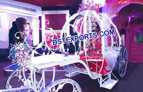 Grand Bride Entrance Wedding Carriage