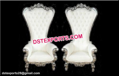 Bollywood Wedding Silver Chairs