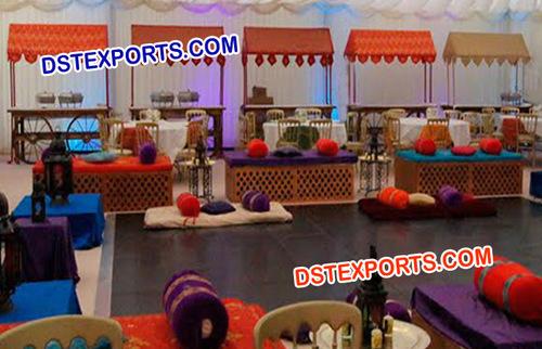 Indian Wedding Food Stall