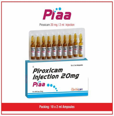 Piroxicam 20 mg/ 2 ml