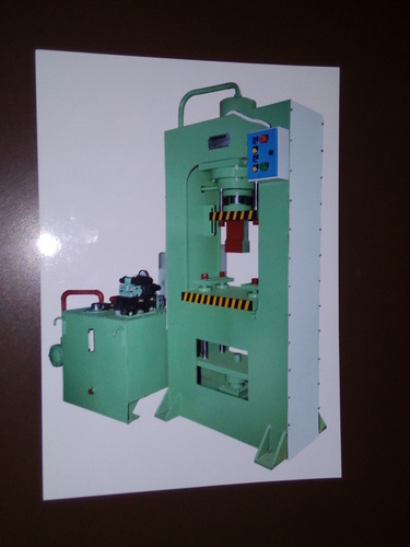 Hydraulic D Mould Tile Press Machine