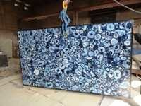 Blue Agate Regular Slab