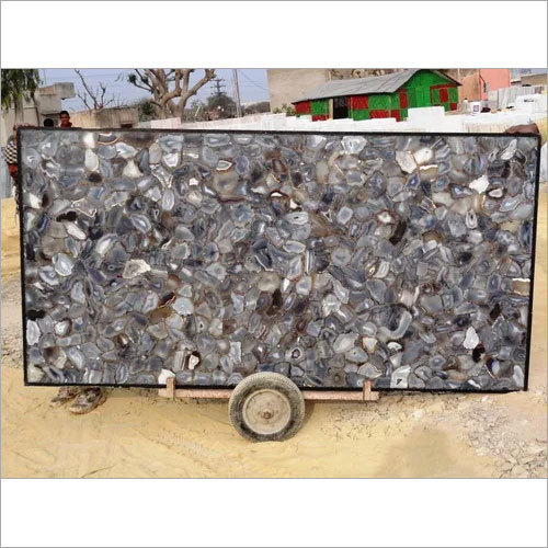 Grey Agate Slab