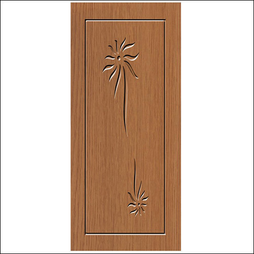 Flower Carved Membrane Doors