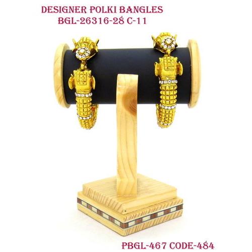DESIGNER POLKI BANGLES