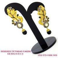 New Designer Victorian Earring