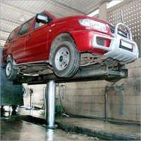 Single Post Washing Lift