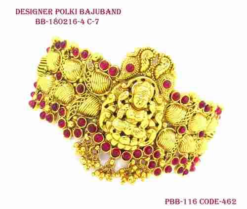 Antique Designer Polki Baju Band