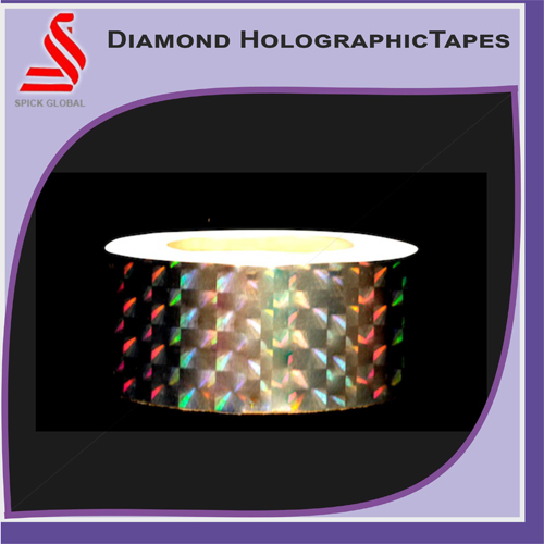 Diamond Holographic Tapes