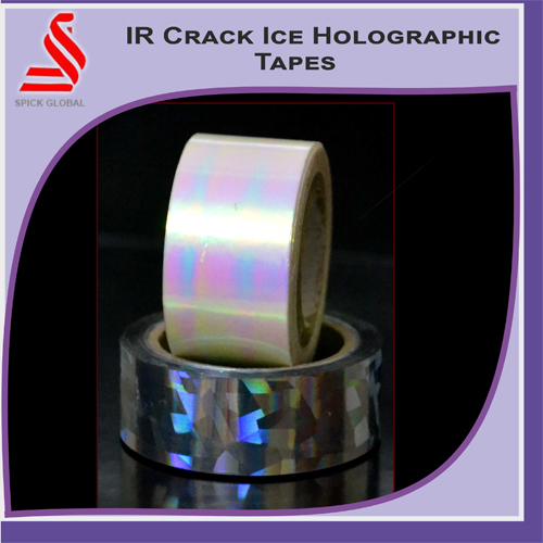 IR Crack Ice Holographic Tapes