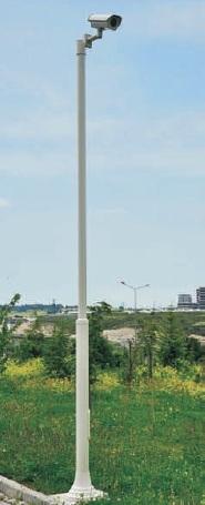 CCTV Surveillance Pole