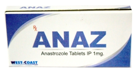 Anastrozole Tablets  Ip 1 Mg