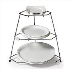 Stainless Steel Plate Stand