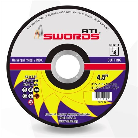 Universal Metal Cutting Disc
