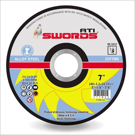 Alloy Steel Cutting Disc