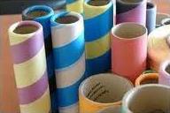 POY Textile Tube