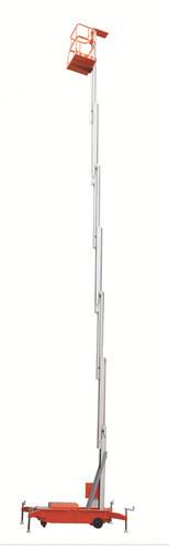 Single Mast Aerial Access Work Platform