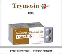 Tryposin Chymotrypsin 5000U+ Diclofenac 50