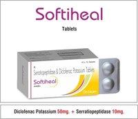 Diclofenac 50 + Serratiopeptidase 10