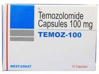 Temozolomide Capsules 100 Mg