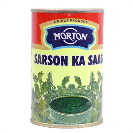 Canned Sarson Ka Saag