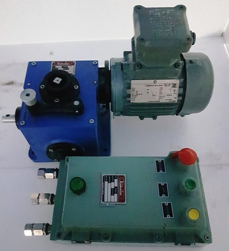 Flame Proof Rolling Shutter Motor