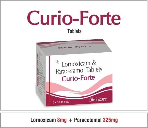 Lomoxicam 8 mg+ Paracetamol 325 mg