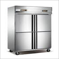 SS Four Door Vertical Freezer