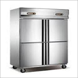 SS Four Door Vertical Freezer