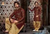 Trendy Silk Sherwani