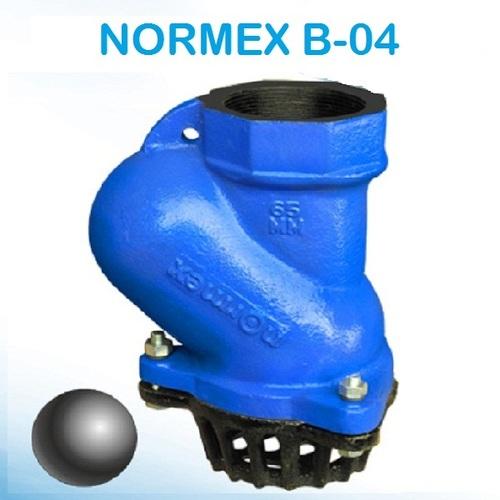 Normex B-04 Ball Foot Valve (Threaded)