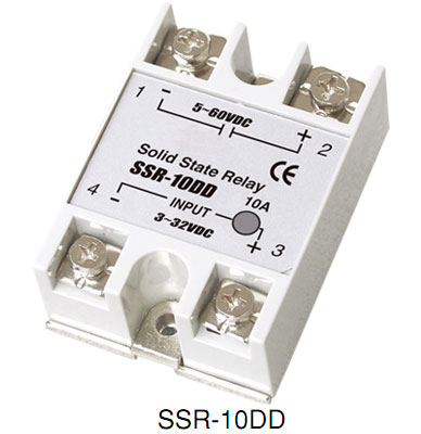Single phase DC Solid state relays