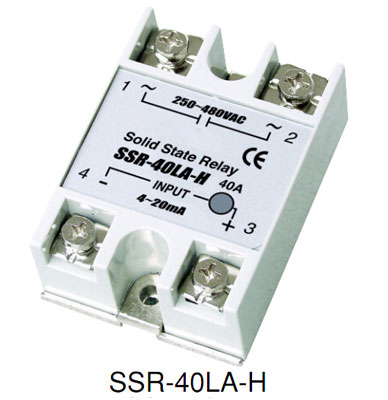 Single phase AC Solid state current regulator