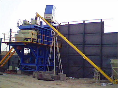Static Batching Mixing Plant