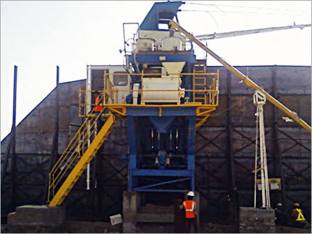 Static Concrete Batching Plant