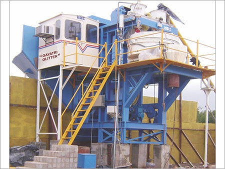Ready Static Concrete Mixing Plant