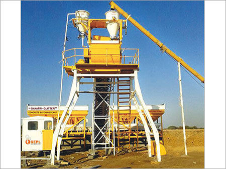 Double Inline Hopper with Twin Shaft Mixer