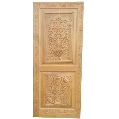 Engraving Designer Wooden Door