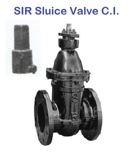 SIR CI Sluice Valve (WITH CAP) PN 10