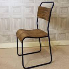 Trendy Plywood Stacking Metal Chair