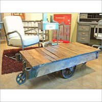 Recycled Industrial Coffee Table