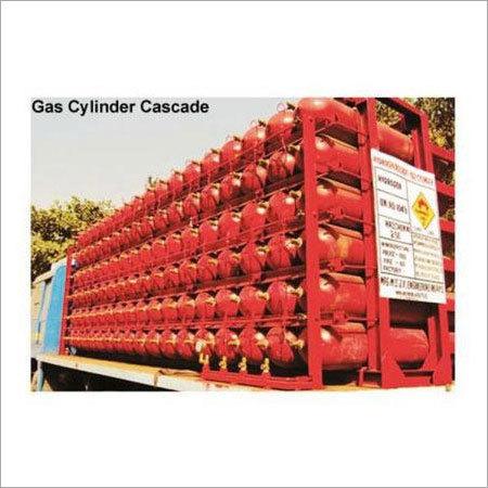 Gas Cylinder Storage Cascade