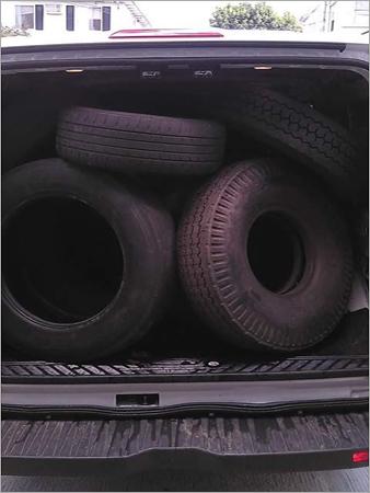 Truck Tyres Scrap