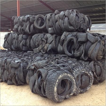 Scrap Tyre Bales