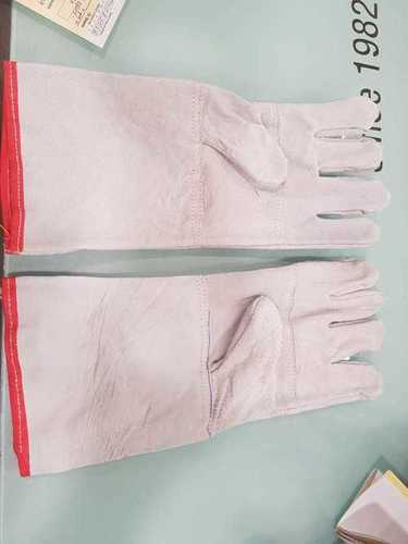 Leather Grew Welding Hand Gloves