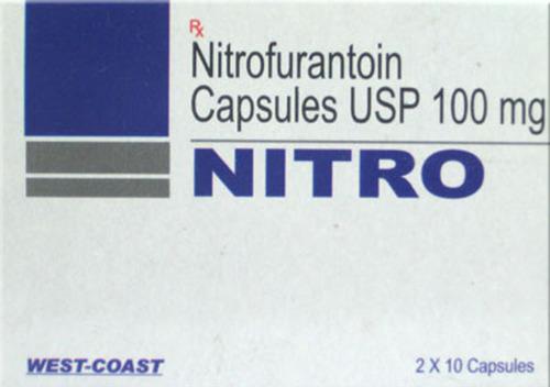 Nitrofurantoin Capsules Usp 100 Mg
