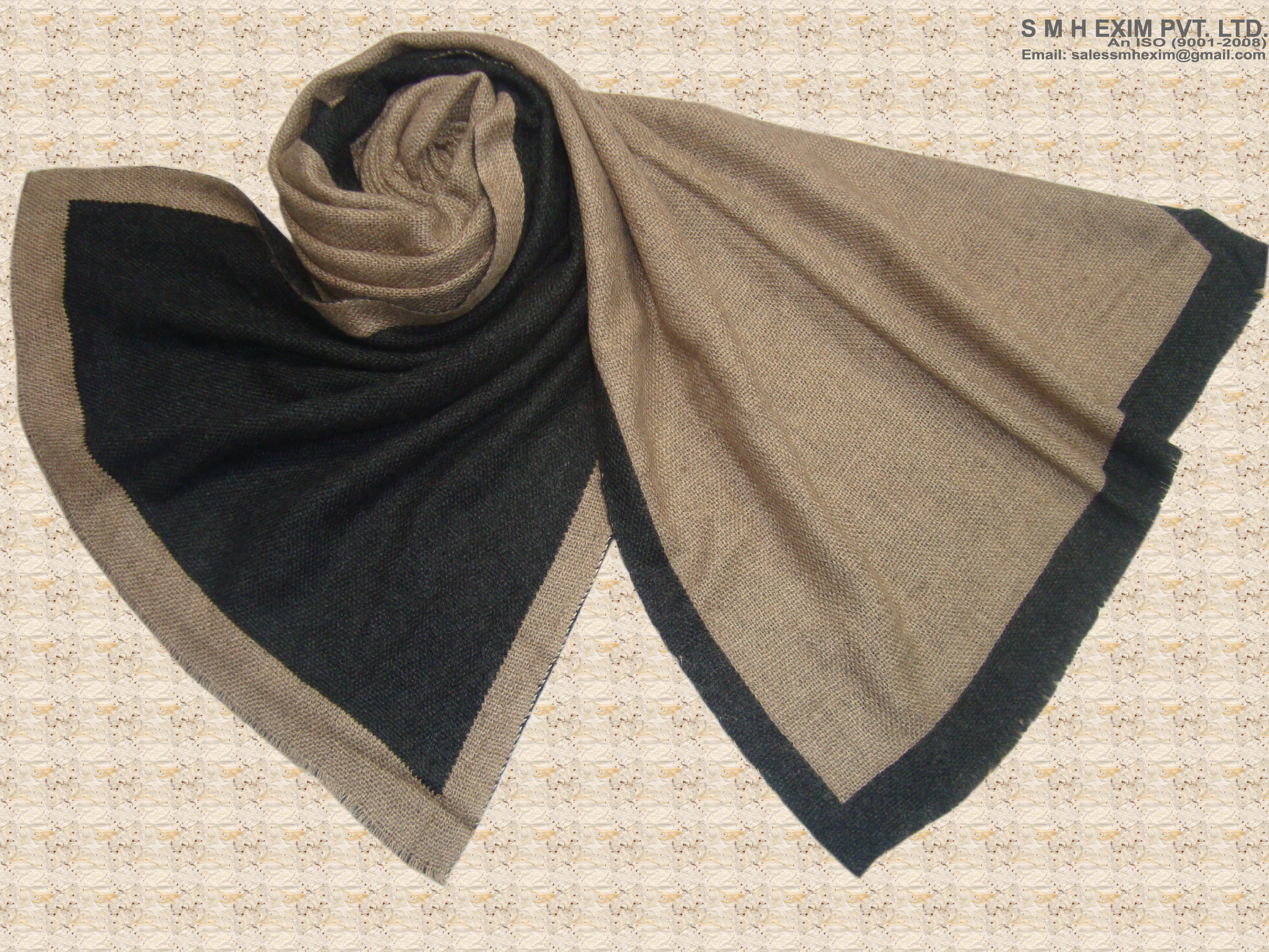 Off White Double Face Scarves