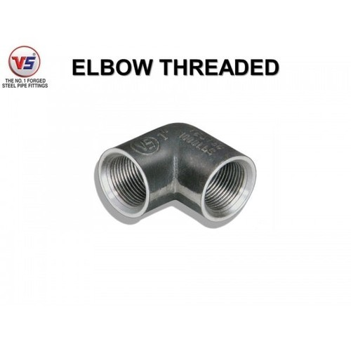 Vs Forged Steel Elbow 1000 Psi Black