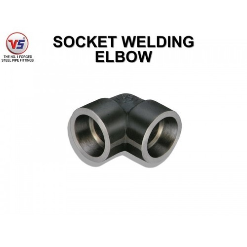 VS FORGED STEEL ELBOW SW 3000 PSI BLACK