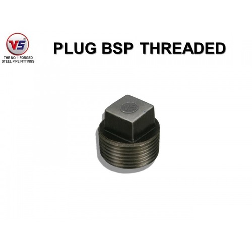 Vs Forged Steel Plug Solid Black